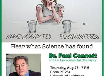Important Event – Presentations by Dr. Paul Connett in Lethbridge